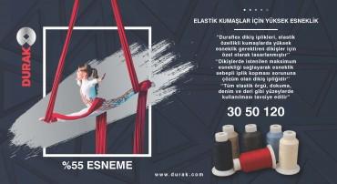DURAK DURAFLEX - ELASTIK KUMAŞLAR İÇİN YÜKSEK ESNEKLİK !!!